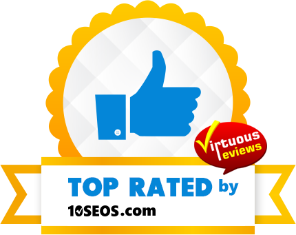 10seos badge for Rhodium Interactive